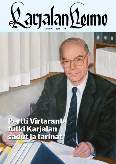 Karjalan Heimo 5-6/2018-artikkeli: kuka oli Pertti Virtaranta?